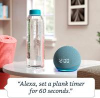 All-new Echo Dot (4th Gen) | Smart speaker with clock