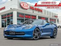 2016 Chevrolet Corvette 3LT  LEATHER, NAVI, REAR/BLIND SPOT CA