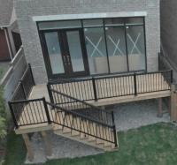 Outdoor Stair Railing - Royal Innovation