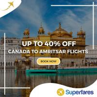Grab Canada to Amritsar Cheap Flight Tickets