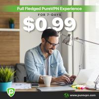 PureVPN Exclusive 7-Days Trial Offer in $0.99