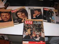 John F. Kennedy Life Magazines , Scrapbook Newspaper Clippings on buy and sell sites canada