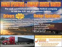 AZ Drivers & Owner Operators Wanted for US Flatbed on free advertising canada