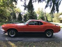 1970 Mach1 Mustang on car ads Canada.