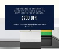 $200 Discount On Mattresses For Students