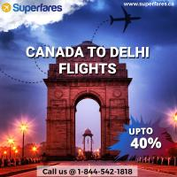 Grab Cheapest Flight From Canada to Delhi