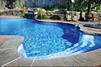 Best Fiberglass swimming pool construction in Toronto by Elite Pool Builder