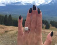 Lost engagement ring downtown Toronto on advertising sites in canada