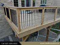 Aluminium Deck Railing Toronto - Royal Innovation
