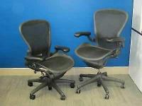 Great Condition Herman Miller Arron Chairs Fully Loaded on buy and sell Toronto.