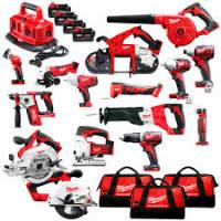 Milwaukees 2695-15 M18 18V Cordless Lithium-Ion 18-Tool Combo Kits