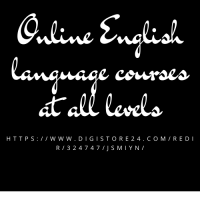 Online English language courses at all levels
