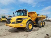 3 VOLVO A30G 6X6 OFF ROAD TRUCKS on online ads Canada.