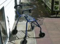 IMMACULATE DOLOMITE LEGACY ROLLATOR WALKER FOR SALE