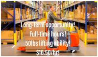 Great Warehouse Associate Positions! $16.50/hr! on free classified ads posting sites in canada