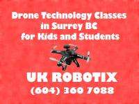 Drone Technology Classes in Surrey BC for Kids and Students