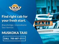 Ride in the Bracebridge & Gravenhurst area.. muskoka taxi