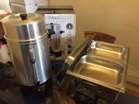 Chafing dish, coffee Urn rental $10