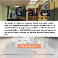 The Giraffes Art_School is a music and visual arts centre for children ages 2–15. We provide accessible
