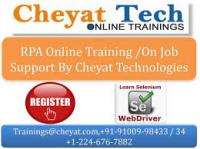 RPA Online Training - BluePrism Online Training - Cheyat Tech