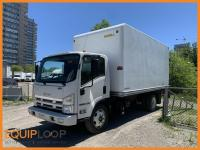 2015 Isuzu NRR  16FT VAN BODY & Tailgate