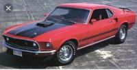 Wanted,Wanted 1969 mustang Mach on car ads Canada