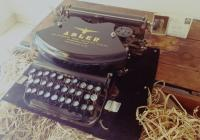 Vintage Antique Typewriter | ADLER | Germany WW2 | TZG5WW249| Seal WW2|  TZG5WW249