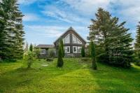 Log & Stone Home In Beautiful Mono For Sale