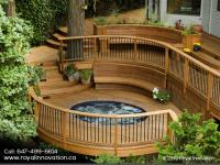 Strong & Luxurious Wooden Deck by Best and Experienced Wooden Deck Building Company in Toronto - Royal Innovation