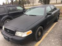 FORD CROWN VICTORIA 2010-:-MATTE BLACK-:-POLICE DETECTIVE CAR