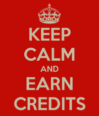 Earn credits by displaying ads on your website