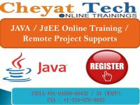 Java Online Training - On Job Support - Cheyat Technologies