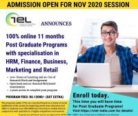 CTEL-INDIA 100 Percent Online Post Graduate Programs