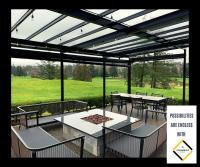 Enjoy the cosy weather with our classy Sunrooms