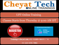 Cheyat Tech - UFT Online Training - QTP Online Training
