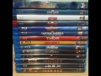 Wanted: looking to buy marvel blu ray movies.